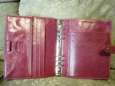 FOR SALE Vintage Pink Malden A5 Filofax Planner | eBay