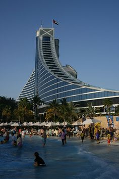 Vacation paradise - Jumeirah Beach Resort and Wild Wadi Waterpark | by Raphael Bick