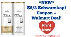 Awesome Coupon! *NEW* $5/2 Schwarzkopf Coupon + Walmart Deal!  Click the link below to get all of the details ► http://www.thecouponingcouple.com/new-52-schwarzkopf-coupon-walmart-deal/ #Coupons #Couponing #CouponCommunity  Visit us at http://www.thecouponingcouple.com for more great posts!