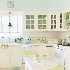 Colorful Highlights - 5-Star Beach House Kitchens - Coastal Living
