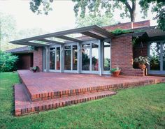 Frank Lloyd Wright's Willey House, built in 1934 in Minneapolis, restored