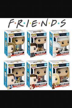 I NEEEEEDDDDDD!!!!!! Friends POP! Vinyl