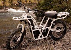 前後輪駆動のオフロード用電動バイク、Ubco「2x2」 - えん乗り