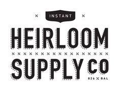 Heirloom Supply Co logo