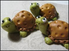 Turtles! How adorable! I Love these!!!