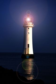 Perch Rock~~New Brighton Lighthouse 	Merseyside 			England	53.444266,-3.041948
