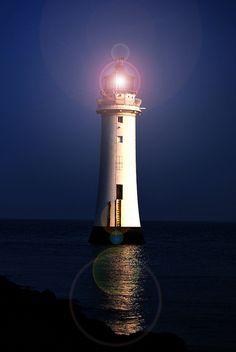 Perch Rock Lighthouse, England