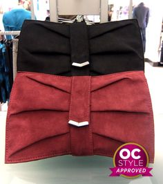 I covet the mini chevron detailing : The perfect clutch - Oshawa Centre Style Approved by Choe Life Runway - Find it at Le Chateau Centre, Chevron, Lisa, Runway, Purses, Style, Fashion, Cat Walk, Handbags
