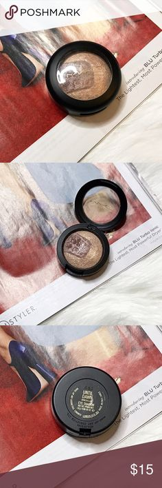 MAC Until Dawn Mineralized Eye Shadow A gently used MAC cosmetics until dawn mineralized eye shadow. Only used a few times.  🚫No Trades🚫  I do not negotiate pricing in the comments. Please submit a reasonable offer by the offer button. Thank you 😊 MAC Cosmetics Makeup Eyeshadow