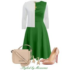 A-Line Dress Outfit