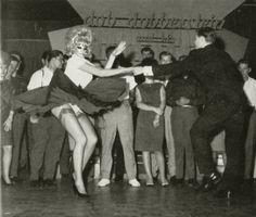 vintage swing dancing