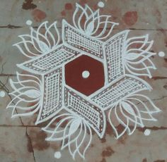 35 Best Mandala Rangoli designs to try - Wedandbeyond Easy Rangoli Designs Diwali, Indian Rangoli Designs, Rangoli Designs Latest, Rangoli Designs Flower, Free Hand Rangoli Design, Rangoli Border Designs, Small Rangoli Design, Rangoli Ideas, Rangoli Designs With Dots
