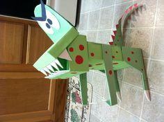 Dinosaur Valentines box!