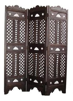 Taza room divider - nice dark or could be whitewashed Room Divider, Paneling, Room Design, Decor, Dream Rooms, Moroccan Room, Silver Living Room, Moroccan Decor, Dinning Room Art