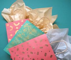 A DIY gift bag idea.
