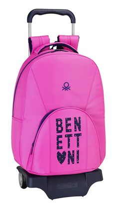 Safta 077028 Benetton Mochila Tipo Casual, Color Rosa: Amazon.es: Zapatos y complementos Color Rosa, Casual, Fashion, Zapatos, Colors, Moda, Fashion Styles, Fashion Illustrations