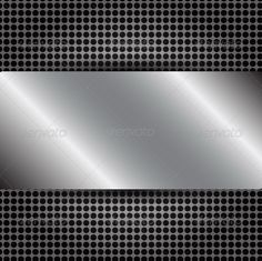 Abstract Metallic Background Vector Illustrator.  #GraphicRiver         Vector of Abstract Metallic Background Vector Illustrator, EPS 10.     Created: 8March13 GraphicsFilesIncluded: VectorEPS Layered: No Tags: abstract #alloy #aluminum #background #carbon #chrome #construction #dark #design #effect #eps #frame #hole #illustration #industrial #iron #light #mesh #metal #metallic #modern #pattern #plate #shape #shiny #silver #steel #texture #vector #wallpaper