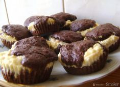 Babeczki kakaowo-serowe