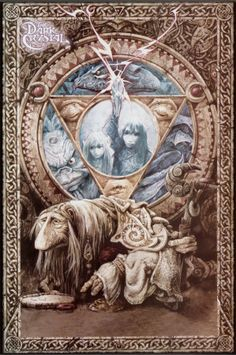 The Dark Crystal...my favorite movie of all time....and one of my favorite artists, Brian Froud