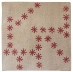 peace industry's felted wool rugs