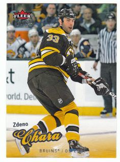 Zdeno Chara # 10 - 2008-09 Fleer Ultra Hockey