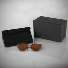 CHRISTIAN DIOR HOMME Composit 1.0 Mirrored Fire Orange A2J/2A Sunglasses NEW #ChristianDior #Round