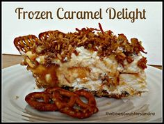 Frozen Caramel Delight featured at Thursday's Treasures Link Party