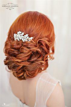 Top 25 Stylish Bridal Wedding Hairstyles for Long Hair   http://www.deerpearlflowers.com/top-25-styleish-bridal-wedding-hairstyles-for-long-hair/