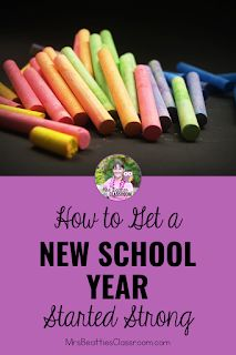 How to Get an Amazing New Year Started Strong Teacher Organization, Teacher Hacks, New School Year, Back To School, Teaching Math, Teaching Resources, Parent Open House, New Students, Free Tips