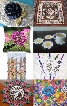 Team TEMPT Flower Power by Randy and Lynn on Etsy--Pinned with TreasuryPin.com