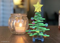 STEMFIE - Desktop Christmas Tree Desktop Christmas Tree, Small Christmas Trees, Merry Christmas, 3d Models, Toys, 3d Printer, Birthday Candles, Free, Table Decorations