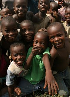 Beautiful kids living in the shittiest place in the WOrld - Liberia - Rarely mentioned on the news - if you're gonna donate anything - check Us/Liberia charities.