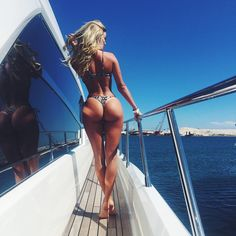 STUNNING BIKINI BODY of blonde #Fitness model Casi Davis : if you LOVE Health, Workout Inspiration & Body Goals - you'll LOVE the #Motivational designs at CageCult Fashion: http://cagecult.com/mma