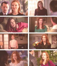 Bree through the seasons Desperate Housewives Quotes, Bree Van De Kamp, Marcia Cross, The Real World, Wisteria, Housewife, To My Daughter, Seasons, Actors