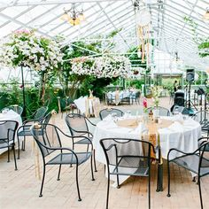 Greenhouse Reception Space   Kelly Dillon Photography   Theknot.com