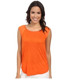 Calvin Klein Jeans Calvin Klein Jeans  Extended Raglan Sleeve Mixed Slub Top Flame Womens Sleeve Knit for 24.99 at Im in!