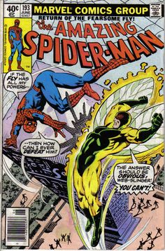 AMAZING SPIDER-MAN #193(MARVEL COMICS) (JUNE 1979) BATTLES THE FLY!!! This is…