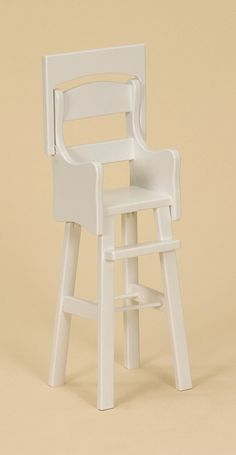 "Amish Selections, LLC - Doll High Chair - 18"" Doll Furniture, $86.95 (http://www.amishselections.com/doll-high-chair/)"