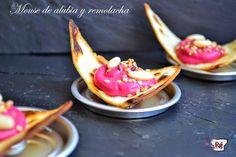 RossGastronómica: Mousse de alubia y remolacha