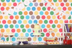 Very Hungry Caterpillar party by Hello Naomi  {her desserts are simply amazing}