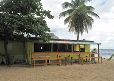 """Playa Jobos in Isabela, Puerto Rico. This place was featured on Anthony Bourdains' """"No Reservations"""" several years ago."""