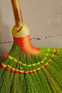 woven homewares Skirted Broom - anthropologie.com #anthrofave #anthropologie
