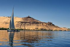 The Nile River #egypt #travel