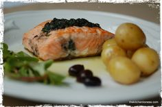 The Kitchen Lioness: French Fridays with Dorie - Salmon with Basil Tapenade