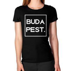 Budapest Dark Women's T-Shirt Budapest, American Apparel, T Shirts For Women, Dark, Cotton, Mens Tops, Fashion, Moda, La Mode