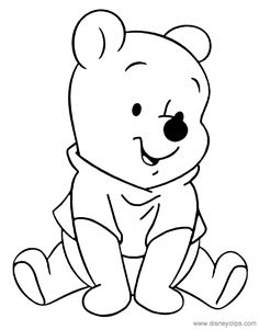 cute baby eeyore coloring pages - photo#29