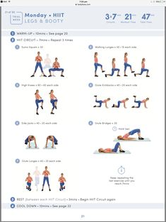 Leg and Bum HIIT Workout | Posted By: CustomWeightLossProgram.com