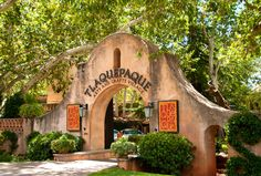 Tlaquepaque Arts and Crafts Village in Sedona, Arizona hosts some of world's most unique art galleries, restaurants and specialty shops. Sedona Arizona, Arizona Road Trip, Arizona Travel, Vacation Trips, Vacation Spots, Fun Vacations, Vacation Places, Sedona Shopping, Places To See