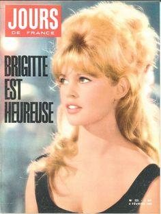 Brigitte Bardot - Jours de France n°325, 4 février 1961
