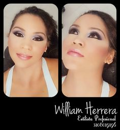 ¡Buenos días! #FelizJueves Hoy les presento un lindo maquillaje que deslumbra por su sutilidad y naturalidad. Con una excelente preparación de piel su maquillaje logro un lindo equilibrio entre lo femenino y sensual de la mujer. Para asesorarte conmigo llámame o escríbeme 3108019196 ¡Abrazo de William Herrera!